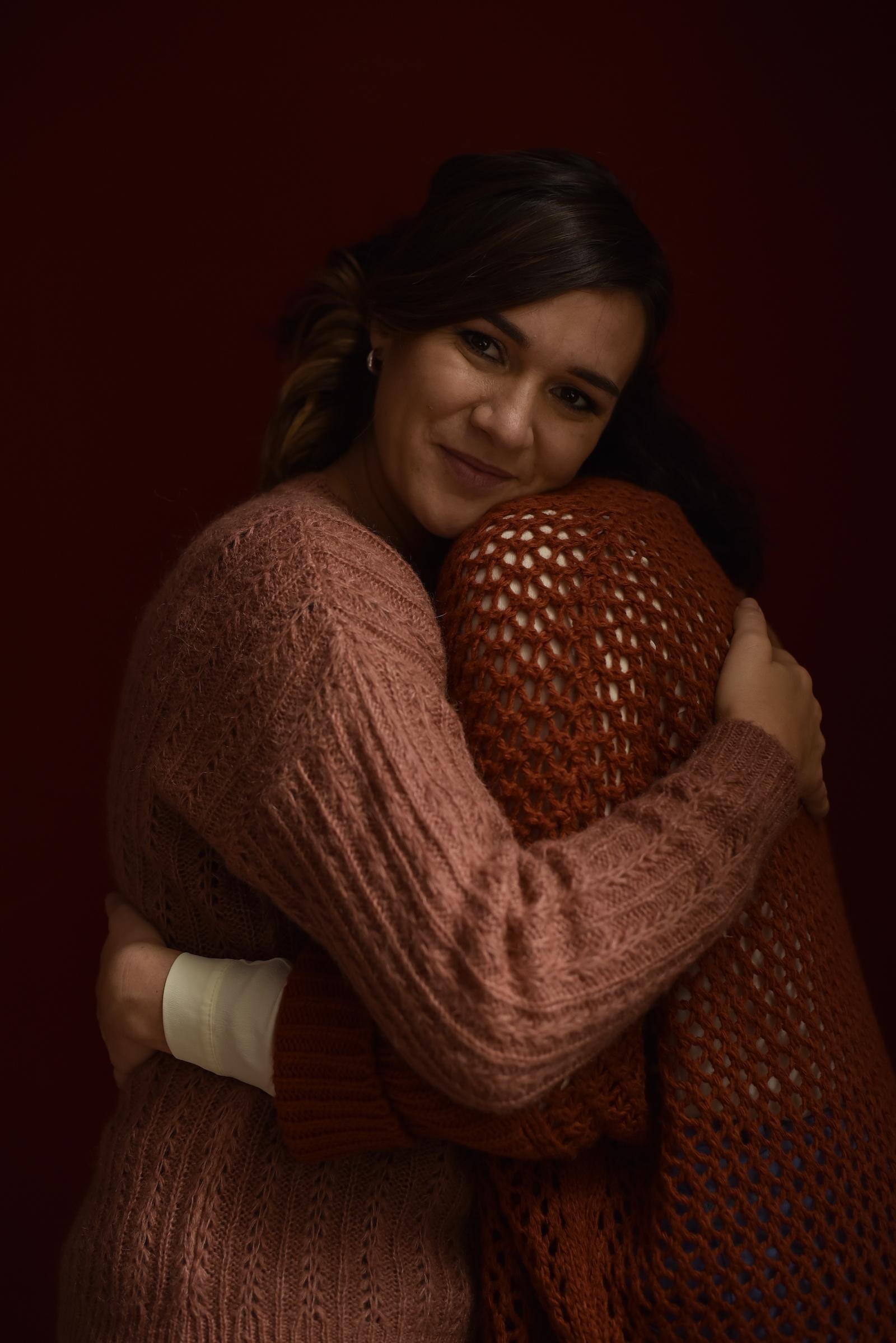 Foto di un abbraccio