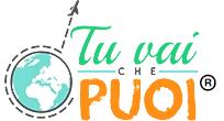 Logo tuvaichepuoi con marchio registrato