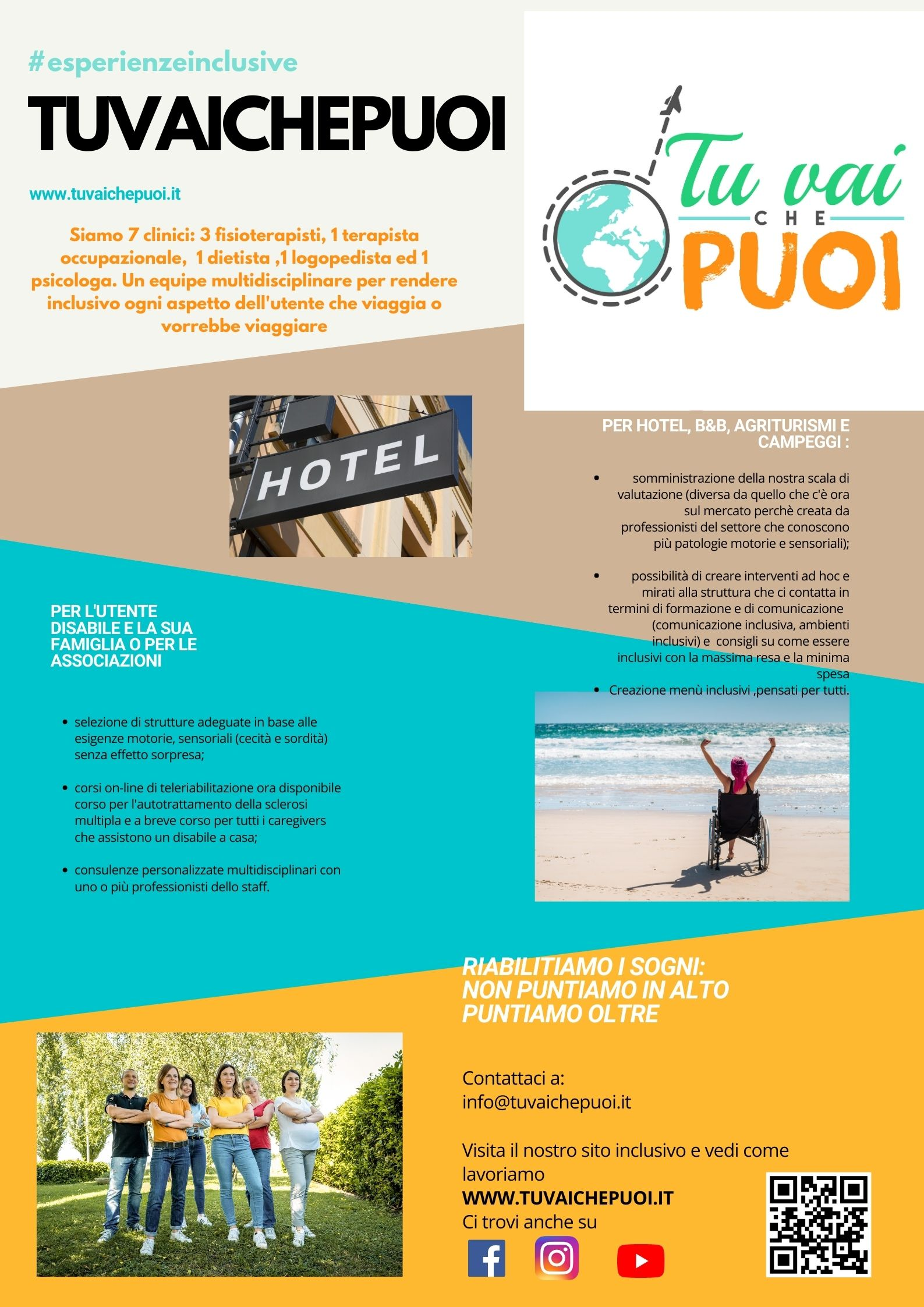 descrizione dei servizi tuvaichepuoi