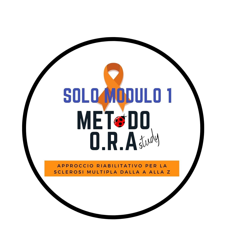 LOGO METODO ORA SOLO MODULO 1